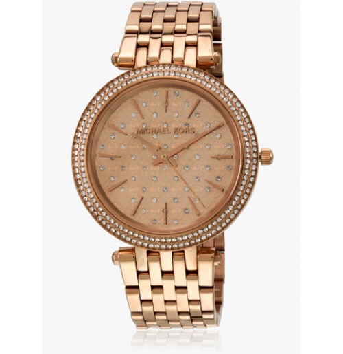 52ceef3948ff Michael Kors Darcy Rose gold colour Ladies Watch MK3399 NEW
