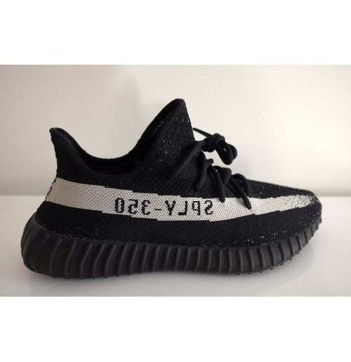 release date: 358f2 d99f2 Imported Adidas Yeezy Boost 350 V2 Low White Black SPLY OREO Kanye West  BY1604 Mens