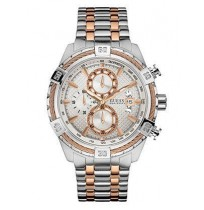 Guess W0522G4, Dual Tone Executive Style Chronograph Watch for Men