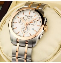 Tissot Couturier Chronograph Men Imported Wrist Watch With Steel