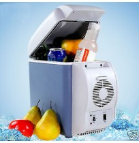 12V 7.5L Portable Thermoelectric Car Cooling & Warming Refrigerator Fridge Blue