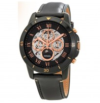 FOSSIL Grant Skeleton Dial Automatic Original Men's Multifunction Watch ME 3138