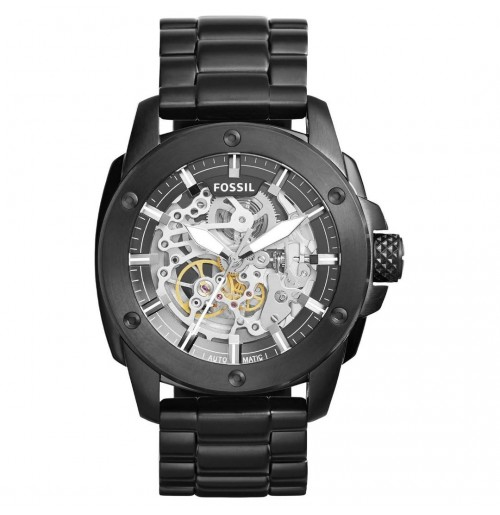 Fossil Modern Machine Automatic Skeleton Dial Men's Watch ME3080