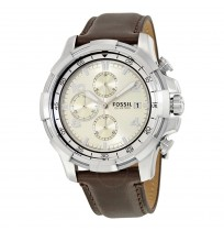 Fossil  Dean Analog Cream Dial Men's Watch - FS5114