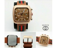 Gucci Brown Dial Day Date Men's Watch