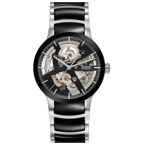 Imported Rado Centrix Automatic Black and Silver Men's Watch