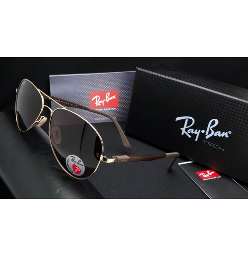 RAY-BAN POLARIZED SUNGLASS FOR MEN SIZE 62