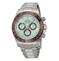 ROLEX Cosmograph Daytona Ice Blue Dial Platinum Oyster Automatic Men's Watch