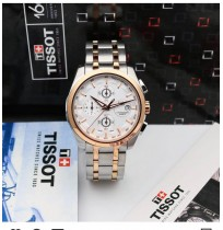 Imported Tissot Couturier Chronograph Luxury Dual Tone Watch For Men