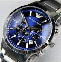Imported Emporio Armani AR2448 Classic Blue Dial Men's Watch