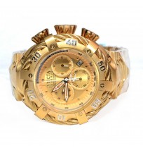 Invicta Reserve 21359 Gold Dial Men's Watch (Imported)