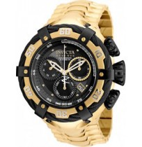 Invicta Men's 'Bolt' Swiss Quartz Stainless Steel Casual Watch Color Gold-Toned (Imported)