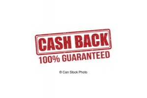 cash back 100% Guaranteed