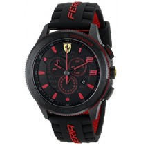 Ferrari Men's 0830138 Scuderia Xx Analog Display Quartz Black Watch