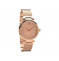 Guess Soho Rose Gold-tone Stainless Steel Watch for Women W0638L4