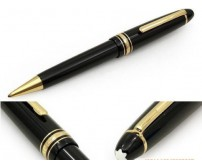Imported Brand New Rare Vintage Look Rubber Black Ball Pen exclusive Writing Instrument