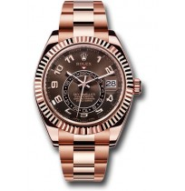 Imported Rolex Oyster Perpetual Sky-Dweller Rosegold Watch