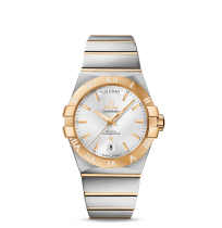 OMEGA CONSTELLATION CO-AXIAL DAY-DATE 38 MM AUTOMATIC WATCH FOR MEN (IMPORTED)
