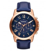 Fossil Analog Blue Dial Men's Watch - FS4991