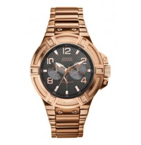 Guess Analog Watch For Men - W0218G3