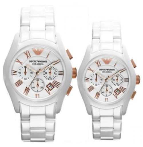 EMPORIO ARMANI AR1416 - AR1417 COUPLE, CERAMIC