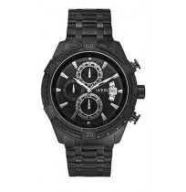 IMPORTED Guess W0522G2 Chronograph Black Ion Plated Steel Bracelet Men Watch